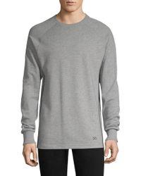 2xist - Mesh Panel Sweatshirt - Lyst