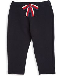 Gucci - Baby's Sylvie Bow Pants - Lyst