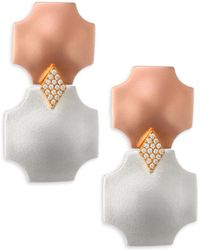 Stephanie Kantis - Overture Double Drop Design Earrings - Lyst