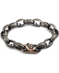 Stephen Webster - Steel Link Bracelet - Lyst