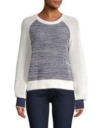 Joie - Golani Colorblock Cotton Knit Jumper - Lyst