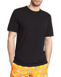 Saks Fifth Avenue - Slub Crewneck Tee - Lyst