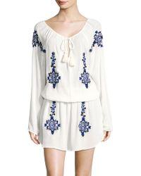 OndadeMar - Tassel Blouson Dress - Lyst