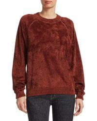 Elizabeth and James - Pearl Luxe Sweatshirt - Lyst