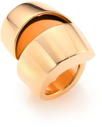 Vhernier - Kiss 18k Rose Gold Ring - Lyst