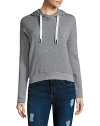 Stateside - Fleece Heather Hoodie - Lyst
