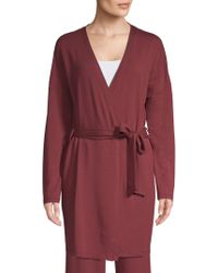 Saks Fifth Avenue - Collection Hattie Classic Wrapped Robe - Lyst