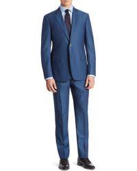 Armani - Wool Suit - Lyst