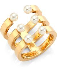Chloé - Darcey Swarovski Pearl Ring - Lyst