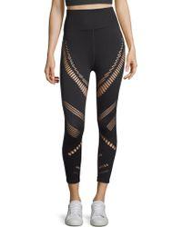 Alo Yoga - High-waist Seamless Radiance Capri Leggings - Lyst