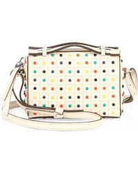 Tod's - Gommino Micro Studded Leather Bag - Lyst