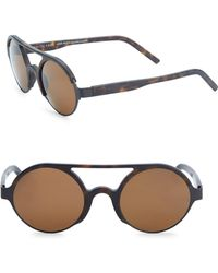 Andy Wolf   Chen 49mm Round Sunglasses   Lyst