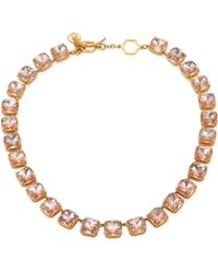 Tory Burch | Crystal Stone Short Necklace | Lyst