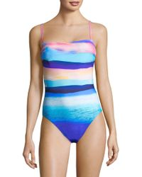 Gottex - Seascape One-piece Tank Swimsuit - Lyst