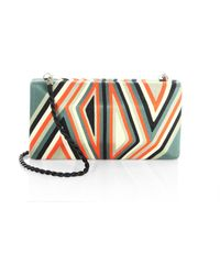 Beatriz - Tropical Edge Large Convertible Clutch - Lyst