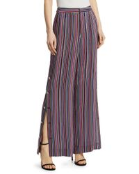 Nanette Lepore - The Big Sleep Striped Trousers - Lyst