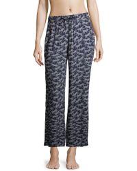 Onia - Chloe Printed Wide Pants - Lyst