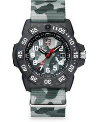 Luminox - Navy Seal Trident Diver Strap Watch - Lyst
