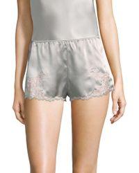 Natori - Lolita Silk Sleepwear Shorts - Lyst