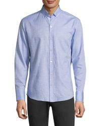 Zachary Prell - Gomis Button-front Shirt - Lyst