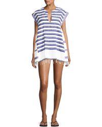 Lemlem | Lulu Stripe Caftan Dress | Lyst