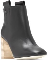 MERCEDES CASTILLO - Bailee Leather Booties - Lyst