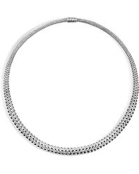 John Hardy - Classic Chain Collar Necklace - Lyst