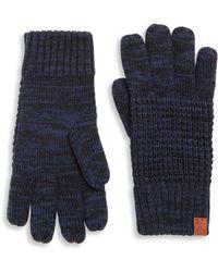 Bickley + Mitchell - Fleece Lined Wool Blend Gloves - Lyst