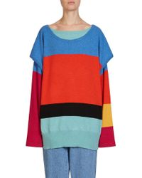 Loewe - Layered Wool & Cashmere Sweater - Lyst
