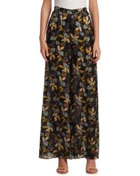 Nicholas - Ava Floral Palazzo Pants - Lyst