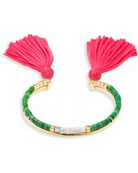 Aurelie Bidermann - Scarab 18kt Gold, Diamond & Tsavorite Earrings - Lyst