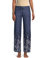 In Bloom - Dandelion Printed Pajama Pants - Lyst