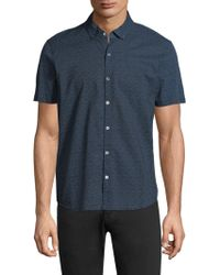 Zachary Prell - Clyde Button-front Shirt - Lyst