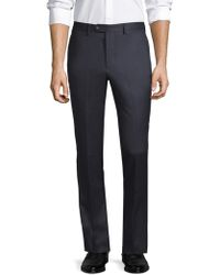 Officine Generale - Paul Straight-fit Flannel Wool Pants - Lyst