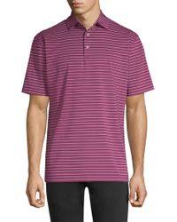 Peter Millar - Crown Sport Stripe Polo Shirt - Lyst