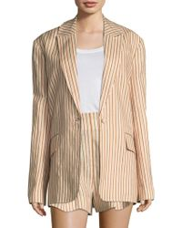 Zimmermann - Painted Heart Blazer - Lyst