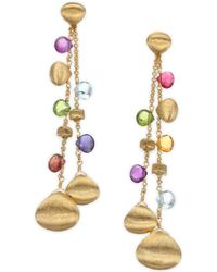 Marco Bicego - Paradise Semi-precious Multi-stone Double-drop Earrings - Lyst