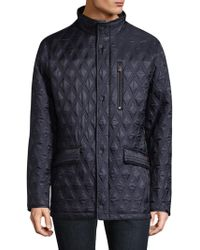 Rainforest - Heated Quilted Field Jacket - Lyst