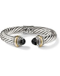 David Yurman - Cable Classics Bonded Yellow Gold & 14k Gold Bracelet - Lyst