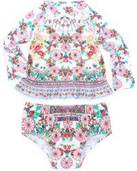 Camilla - Baby Girl's Rashie Printed Set - Lyst