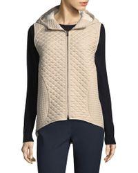 Becken - Hi-lo Rainwear Vest - Lyst
