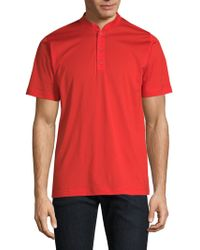 Kiton - Henley T-shirt - Lyst