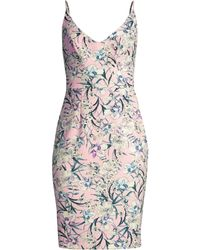 9b7eacca Black Halo - Women's Jevette Floral Print Sheath Dress - Ever After - Lyst