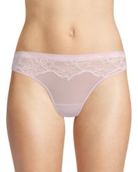 Addiction Nouvelle Lingerie - Cotton Candy Tanga - Lyst