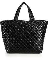 MZ Wallace - Metro Large Lacquered Quilted Nylon Tote - Lyst
