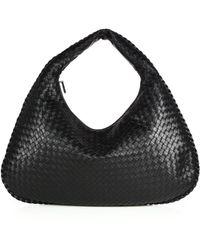 cda712b993 Lyst - Bottega Veneta Veneta Medium Sac Hobo Bag in Gray