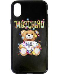 Moschino - Logo Teddy Iphone X Case - Lyst