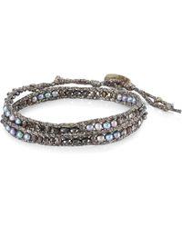 Chan Luu - Peacock Blue Mix Bracelet - Lyst