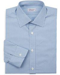 Charvet - Pinstripe Regular-fit Dress Shirt - Lyst