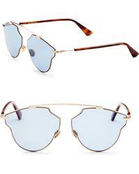Dior - So Real 59mm Pantos Sunglasses - Lyst